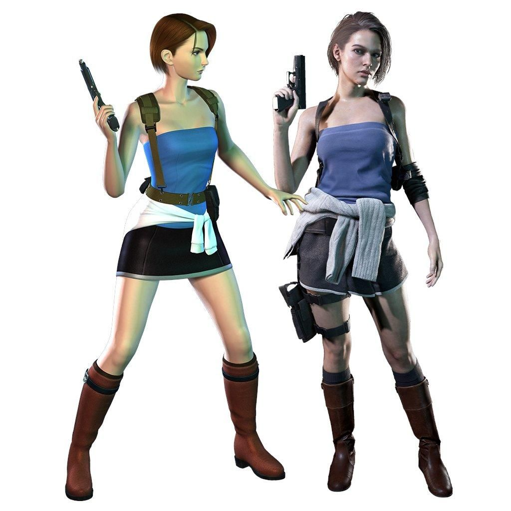 20 Years Resident Evil 3 Different And Similar Of Jill Valentine