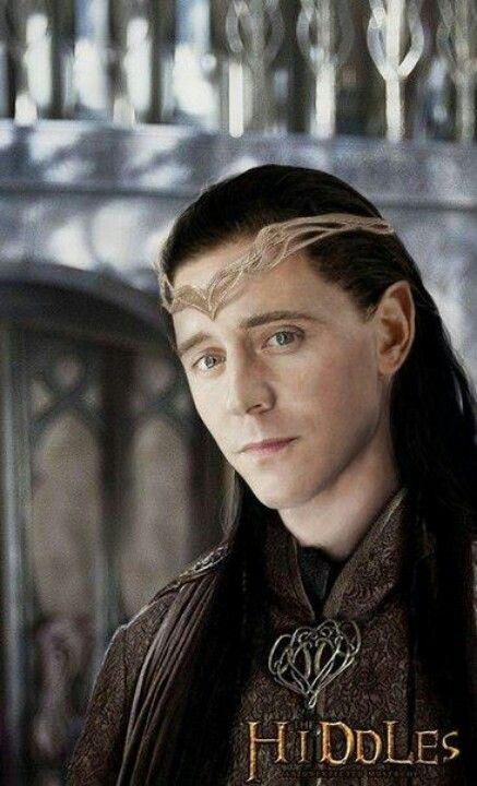 Tom Hiddleston as an LOTR elf  Whoa ~ I still like it XD