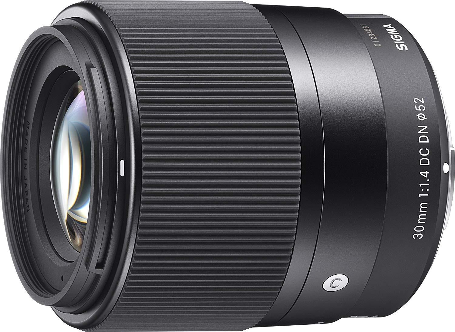 Sigma 30mm F 1 4 Dc Dn Contemporary Lens For Sony E Mount Mirrorless With Bundle In 2021 Best Camera Lenses Mirrorless Camera Sony E Mount