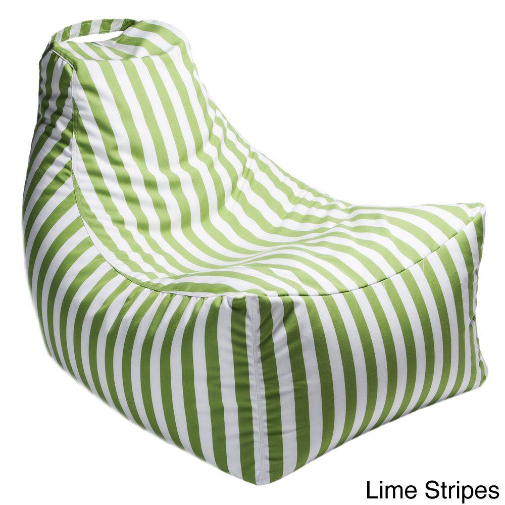 lime green patio furniture. Jaxx Juniper Indoor/ Outdoor Patio Bean Bag Chair (Lime Green), Furniture Lime Green