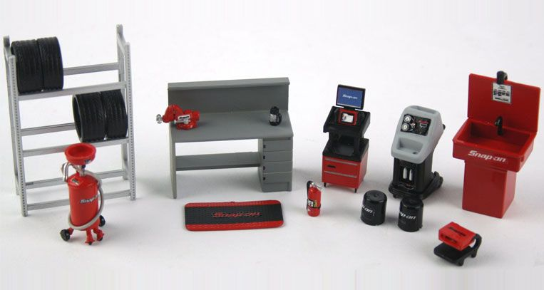 Snap On Shop Essentials - 1:43-DHS Diecast Collectables, Inc
