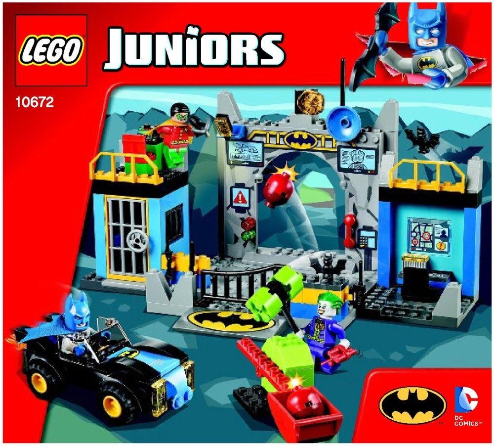 Lego Spiderman Malvorlagen Star Wars 1 Lego Spiderman: Junior - Batman Defend The Batcave [Lego 10672]