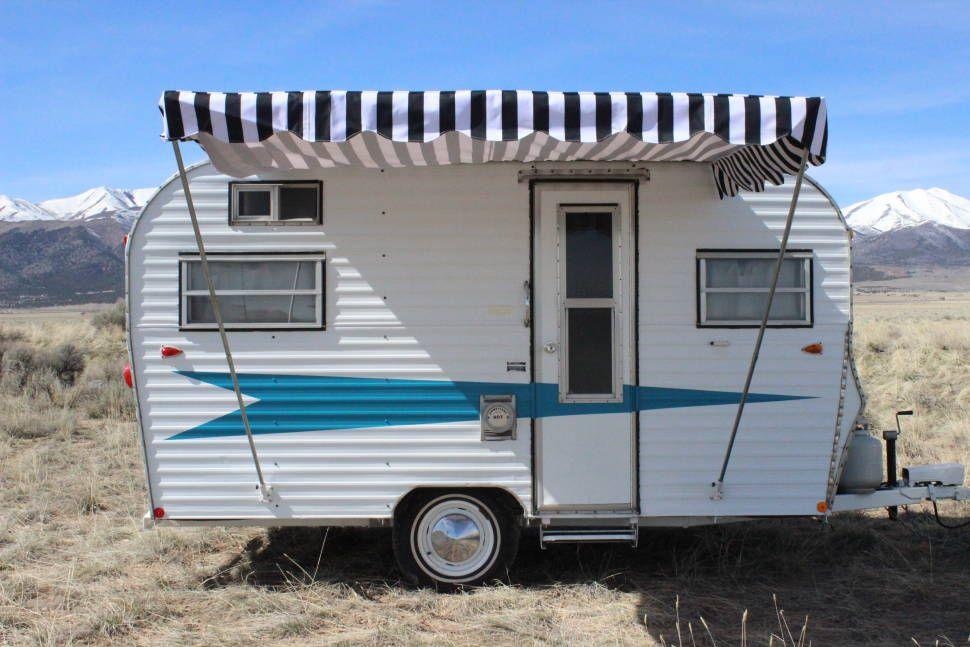 1975 roadrunner glamper rv rental vintage trailers