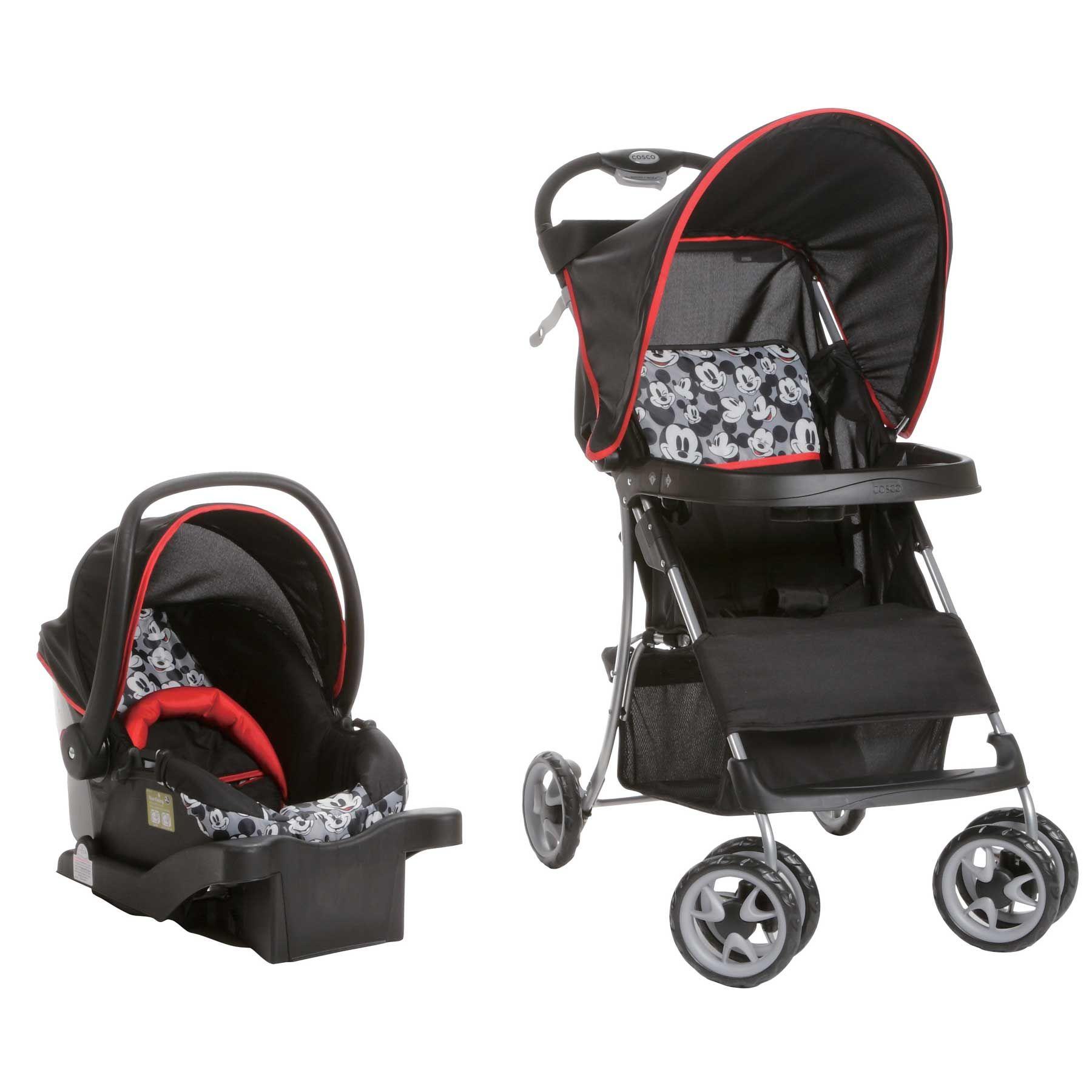 Mickey Mouse Sprinter Go Lightly Travel System Baby Pinterest Travel System Disney Babies