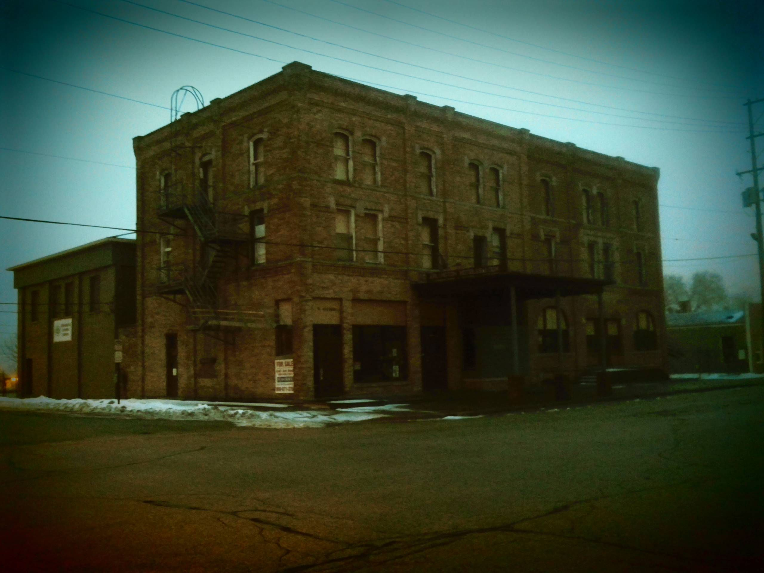 The old Arlington Hotel, Bay City, MI