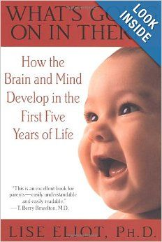 What S Going On In There How The Brain And Mind Develop In The First Five Years Of Life Lise Eliot Parenting Books Thought Provoking Book Brain Development