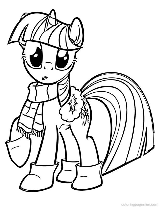 My Little Pony Coloring Book Pages - AZ Coloring Pages | Printabell ...