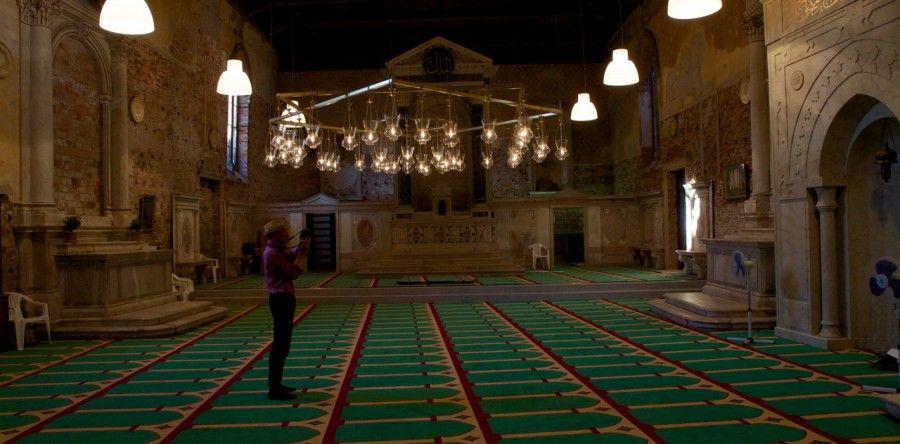 56.Biennale di Venezia, 10/05/2015 La moschea delle polemiche