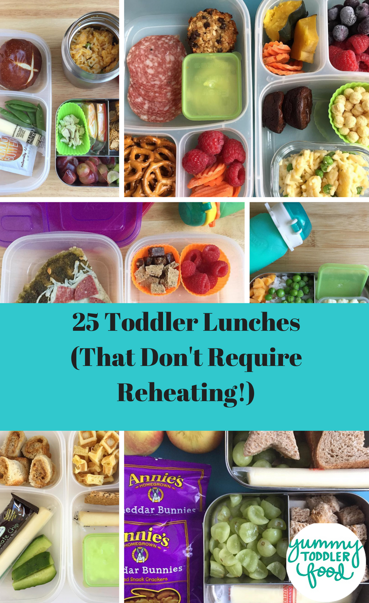 15 toddler lunch ideas for daycare (no reheating required) | toddler