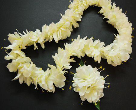 White ginger flower lei fragrant and fragile tiki luau white ginger flower lei fragrant and fragile mightylinksfo