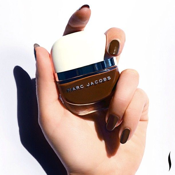 Today's inspiration: Marc Jacobs Beauty Bark! This new shade premiered at #NYFW & is out next summer. #SneakPeek