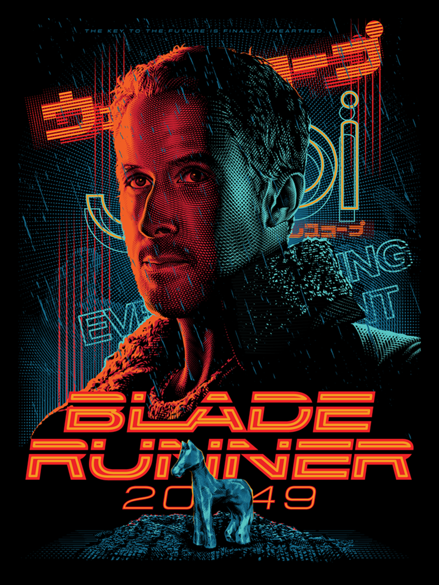 These Epic Illustrated Movie Posters Might Be Better Than The Originals Blade Runner Blade Runner 2049 Blade Runner Poster