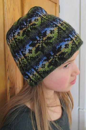 Countrywool Winter Star Fair Isle Hat | Fair Isle/Stranded/DK ...