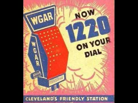 Mid 1950s Collection Of Cleveland Radio Station Identifications And