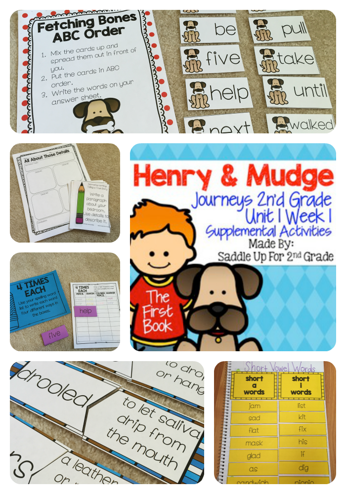 Henry and Mudge: The First Book (Journeys 2nd Grade)   2nd grades ...