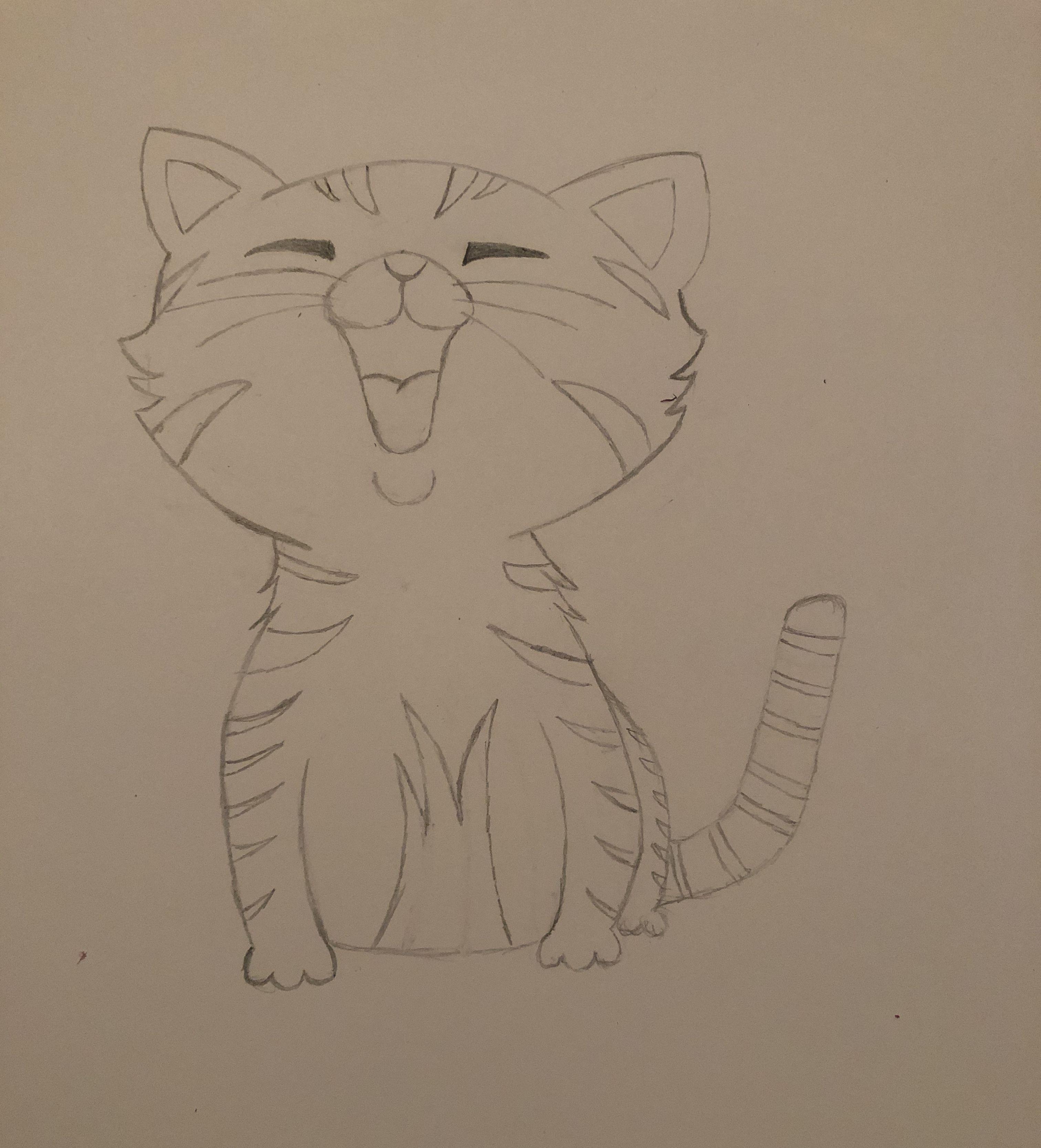 #drawing #sketch #cute #kittens #