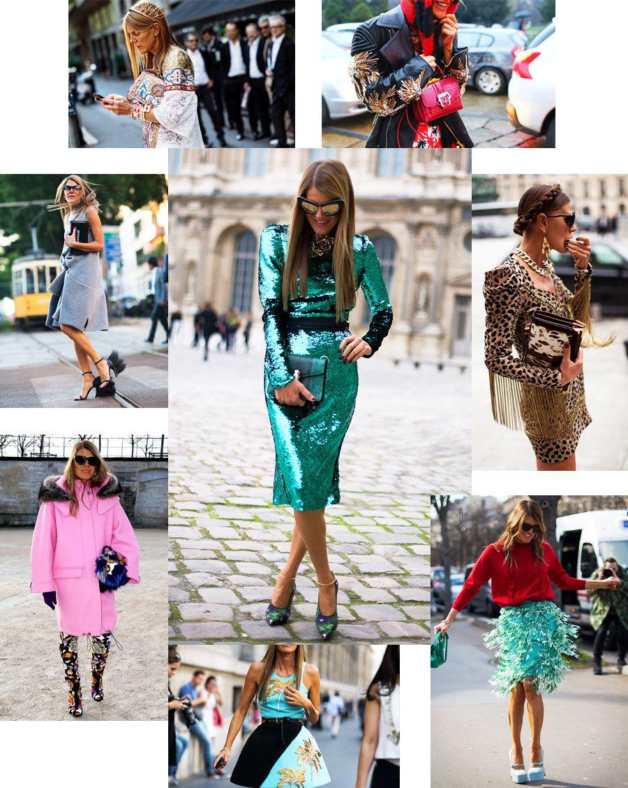 Anna Dello Russo, la reina del 'street style', ¡no te pierdas sus imposibles looks!