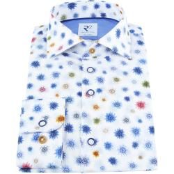 Photo of R2 Shirt Blume blau