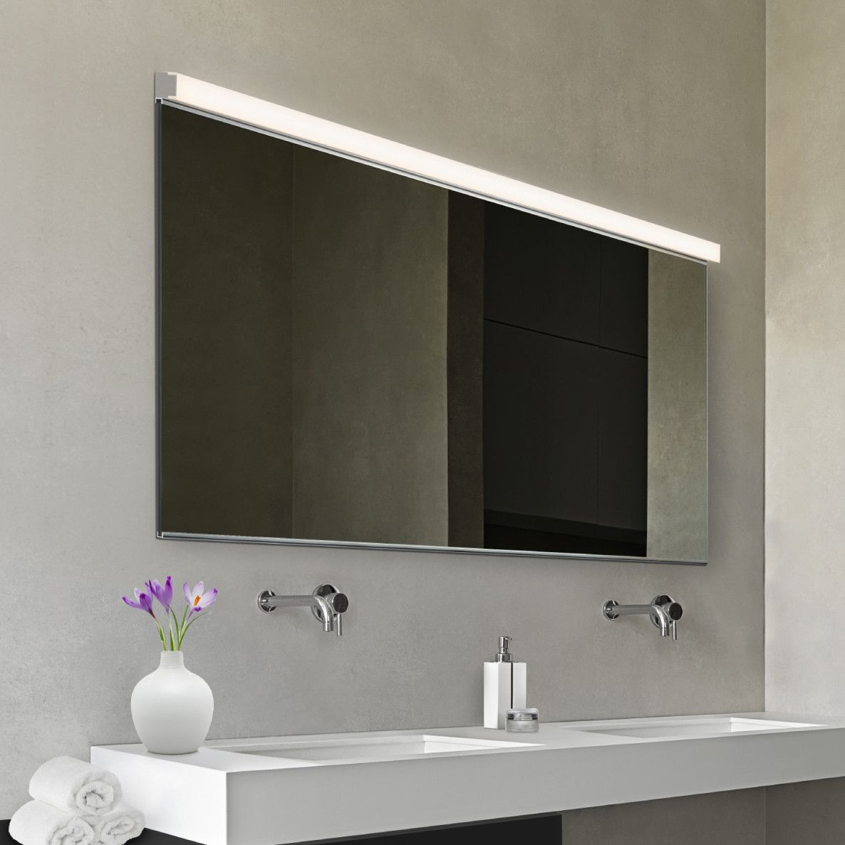 Bathroom Lighting Brands led slim 1-light bath bar | products | pinterest | bath, bar and
