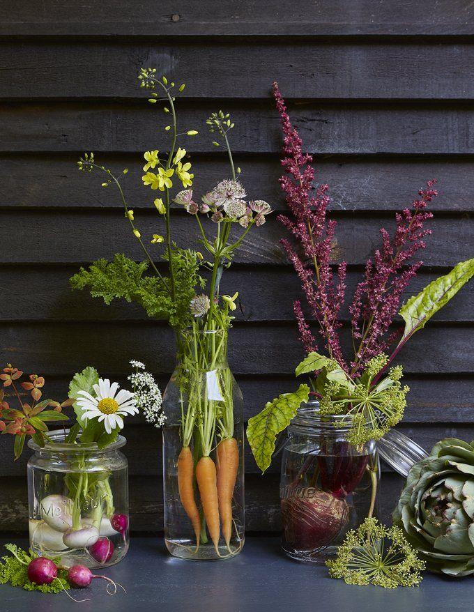 Des bouquets de légumes