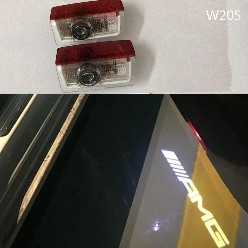 2Xcar Door Courtesy Ghost Shadow Logo Lights For Mercedes Benz w212 w166 w176 W205 & 2Xcar Door Courtesy Ghost Shadow Logo Lights For Mercedes Benz w212 ...