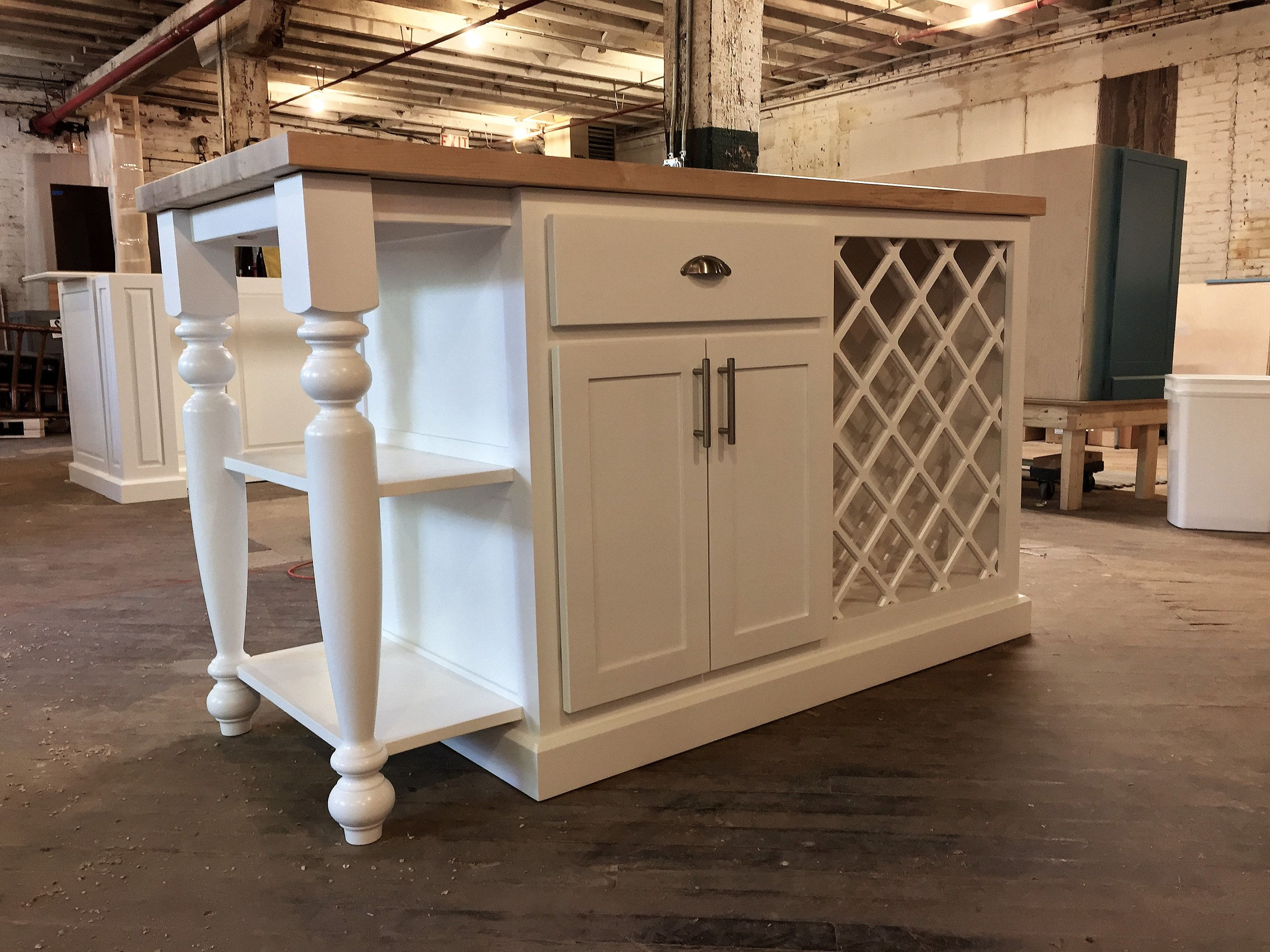 Item Wr1270 Custom Kitchen Island Cabinet Wine Storage Etsy In 2020 Custom Kitchen Island Kitchen Island Cabinets Custom Made Furniture