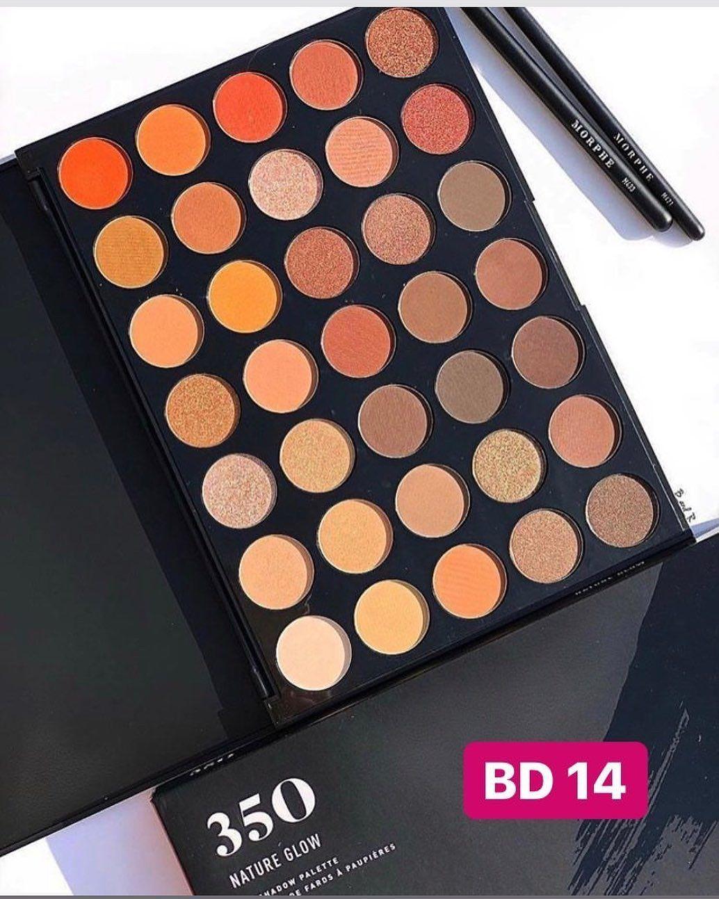 شادو ماركة مورفي الاصلي Original Morphe Palette 100 Available For Immediate Purchase For More Details Con Morphe Eyeshadow Glow Palette Jaclyn Hill Palette