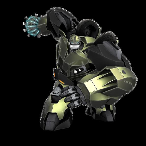 Bulkhead transparent png Transformers prime