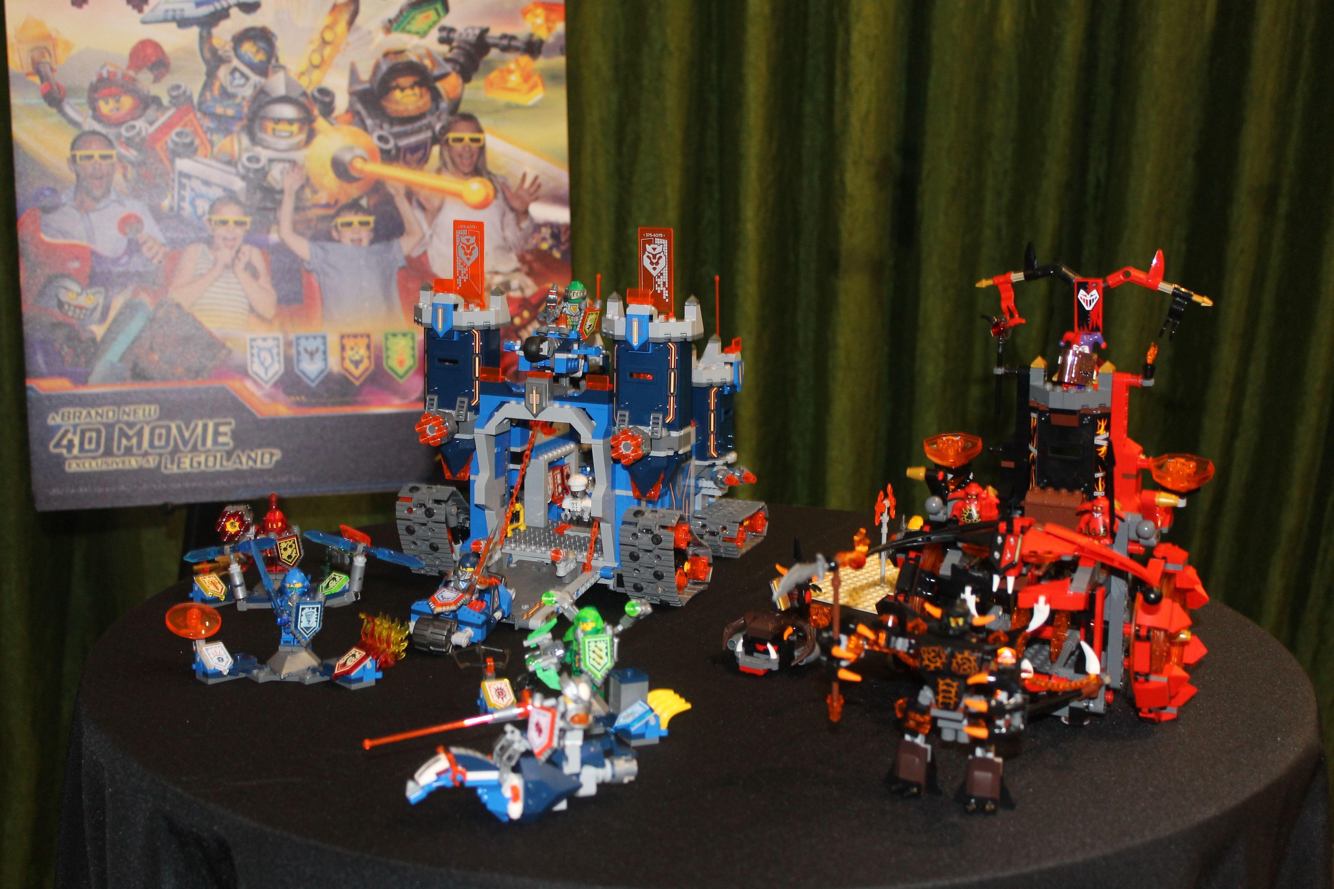 LEGO Nexo Knights 4D