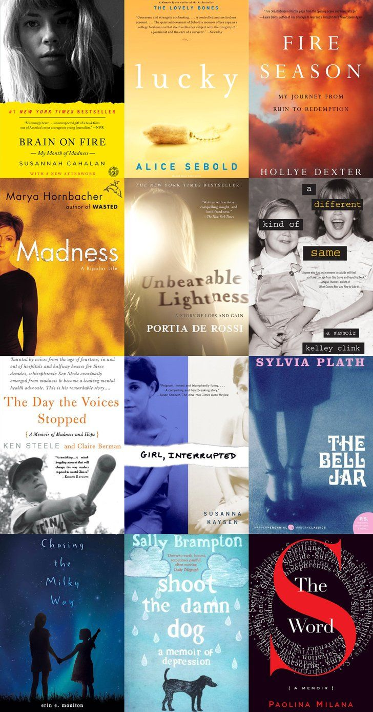 12 pelling and Candid Books on Mental Health