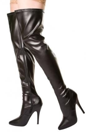 f31ea654f Plus Size Thigh-High Boots | motivation | High boots, Boots, Thigh ...