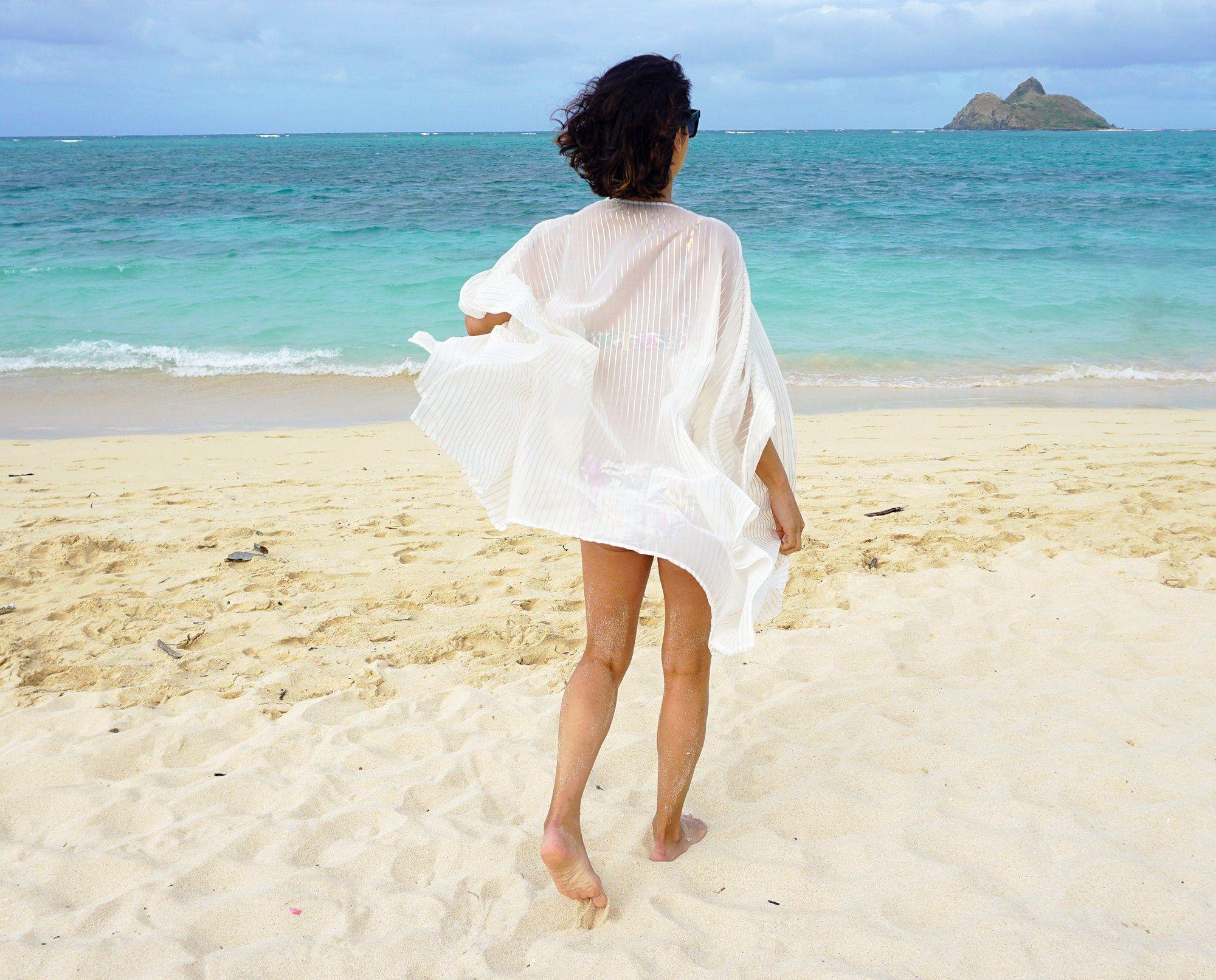 Swimsuit Cover-up, Beach Cover-ups, Swim Cover-ups    Robe, Kimono    Swimwear, Resortwear, Beachwear    Duster, Honeymoon Robe {Kyla Robe} 3