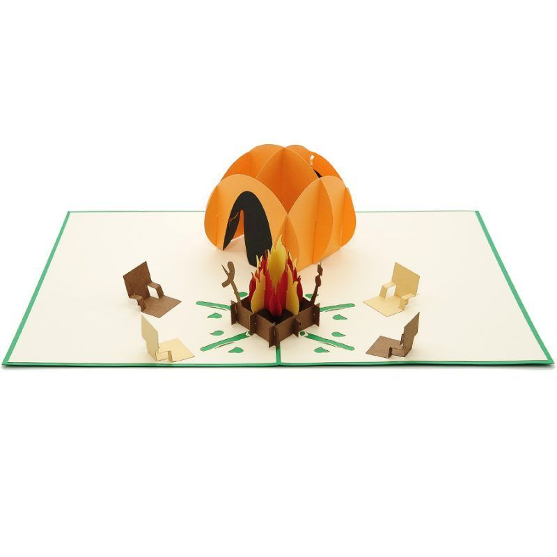 Camping Site Pop Up Card Outdoor Activity Pop Up Card Father S Day Pop Up Card Pop Up Card Ma Pop Up Cards Wholesale Greeting Cards Greeting Card Collection