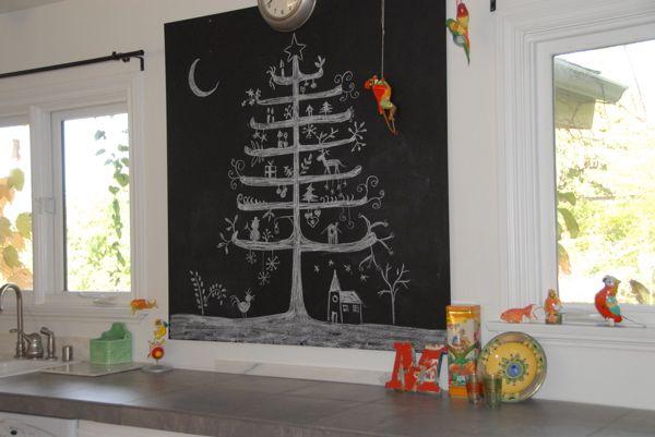 Beneath Magenta Skies: Blackboard Paint