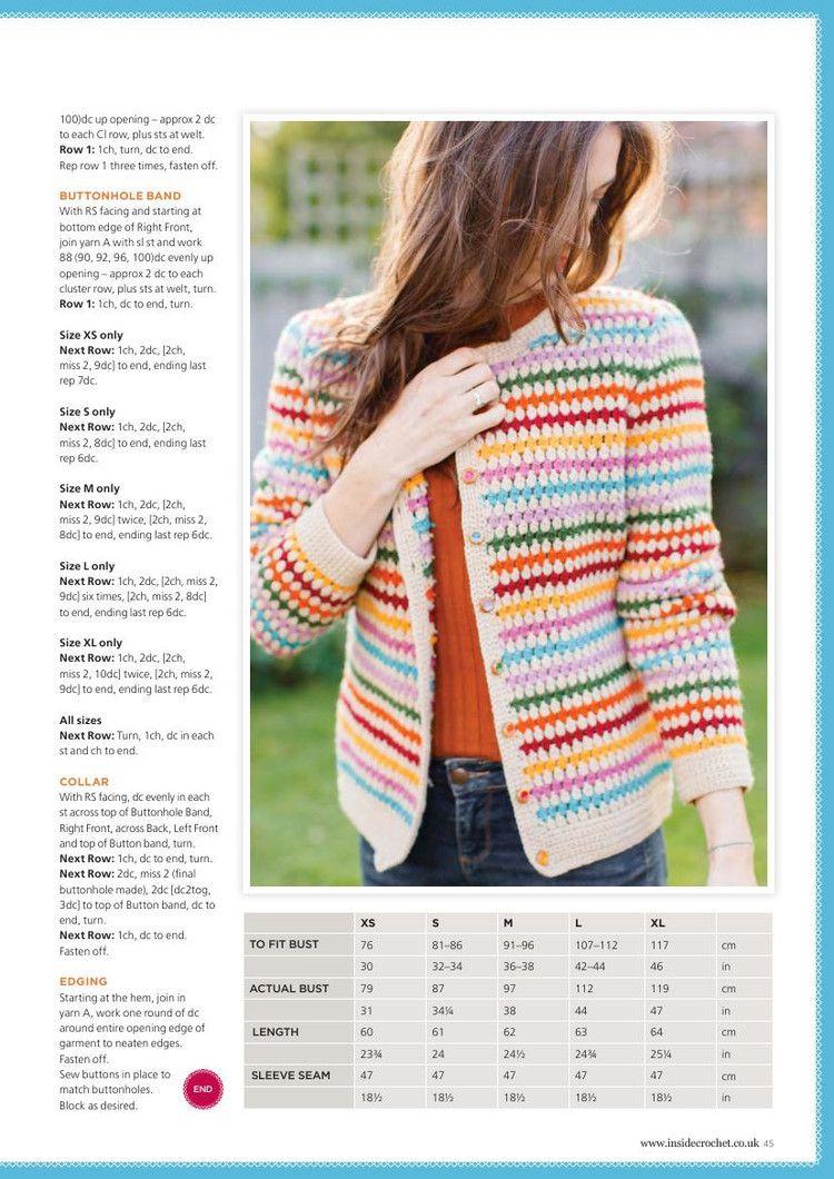 Inside Crochet Issue 73 2016 - 轻描淡写 - 轻描淡写 | Nerimas ...