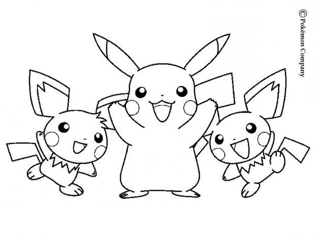 Pikachu And Friends Pokemon Coloring Page More Pokemon Coloring Sheets On Hellokids Com Pikachu Coloring Page Pokemon Coloring Pokemon Coloring Pages