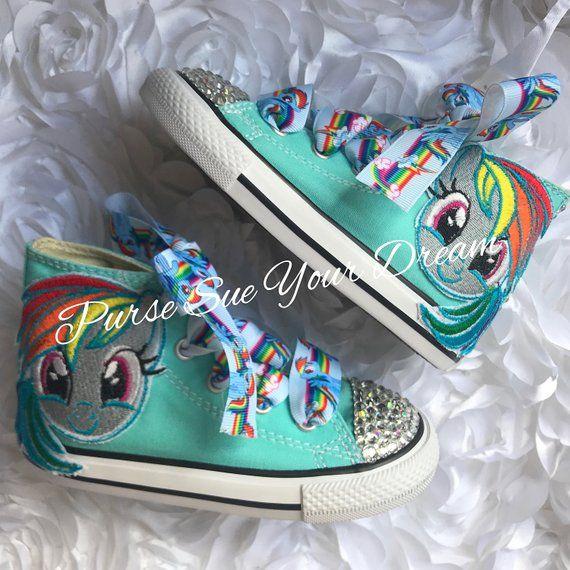 413af5efde2c7 My Little Pony Shoes - Bling Shoes - Custom Rhinestone Shoes ...