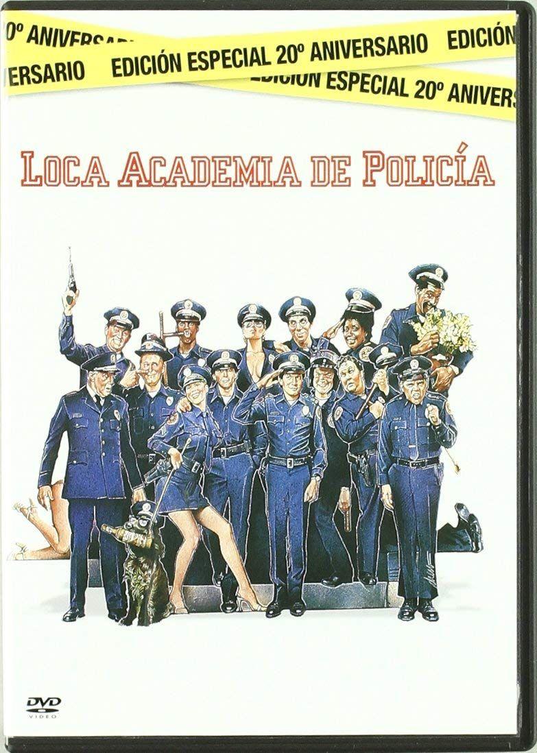 Loca Academia De Policia Edicion Especial Dvd De Academia Loca Policia Academia De Policia Peliculas Cine Buenas Peliculas