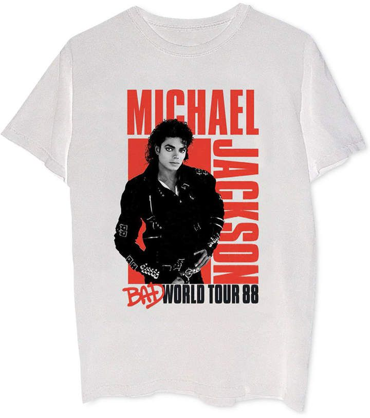 ffae319c Michael Jackson Bad World Tour Men's Graphic T-Shirt | Products in ...