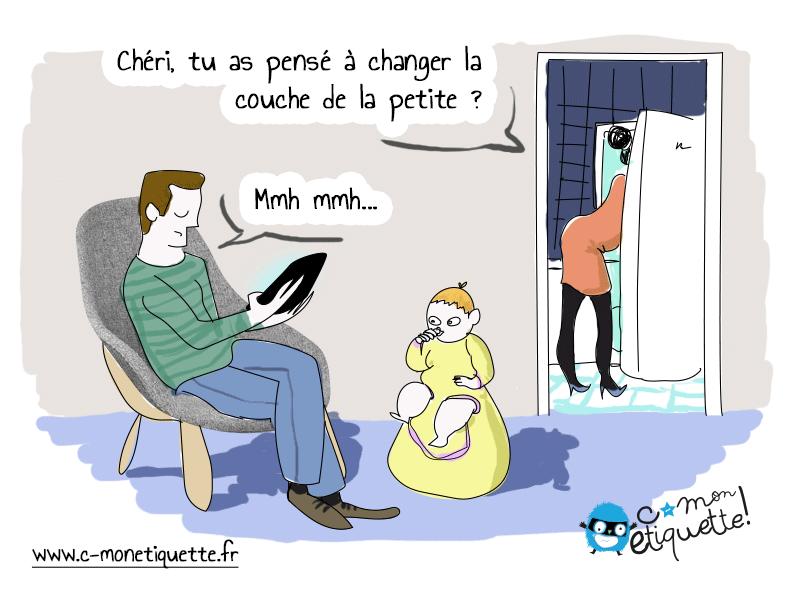 Changer De Couche Humour C Monetiquette Humour Bebe Couche Humour Sur La Parentalite