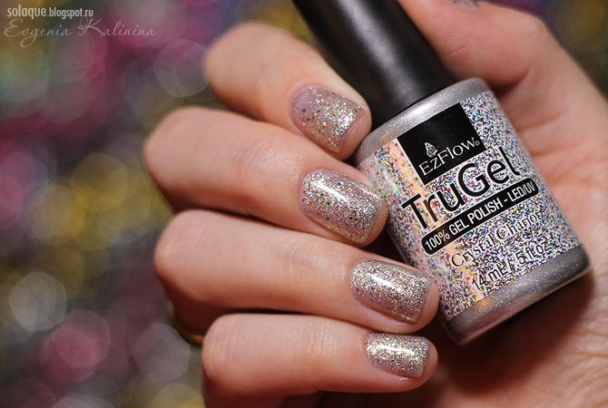 EzFlow TruGel Crystal Chariot | So Laque! | Nails | Gel