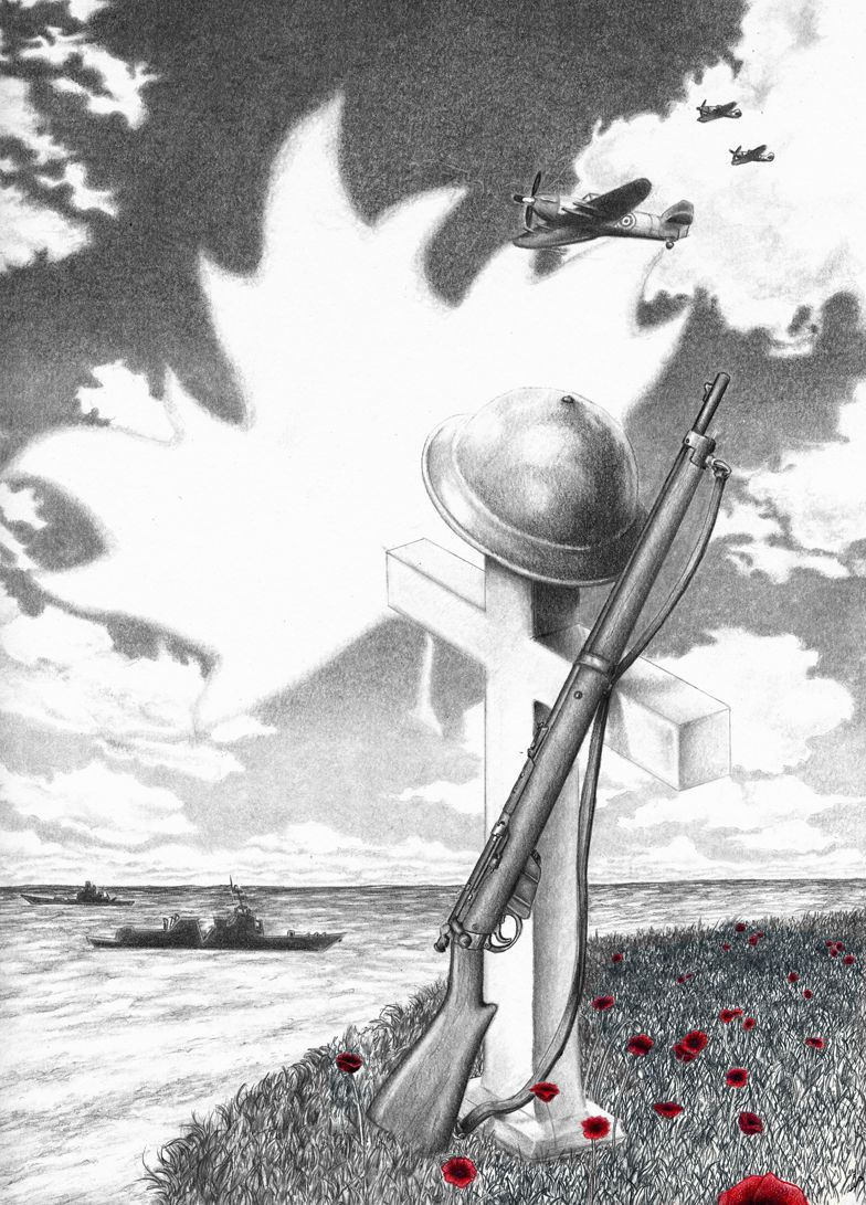 remembrance day art canada google search military drawings
