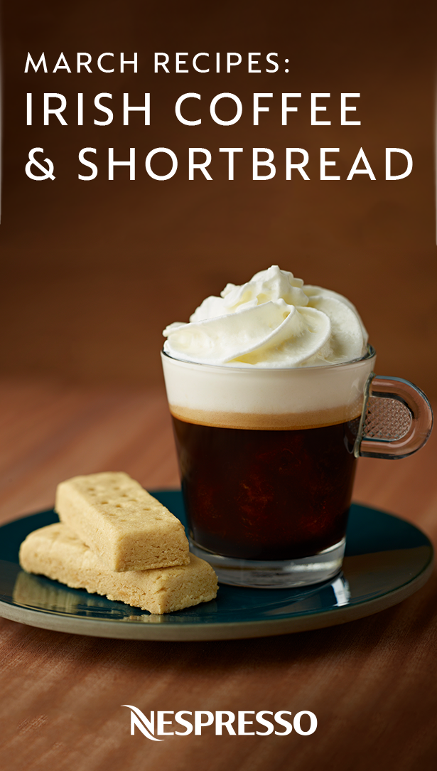 Irish Coffee and Shortbread Classic Coffee Indulgences