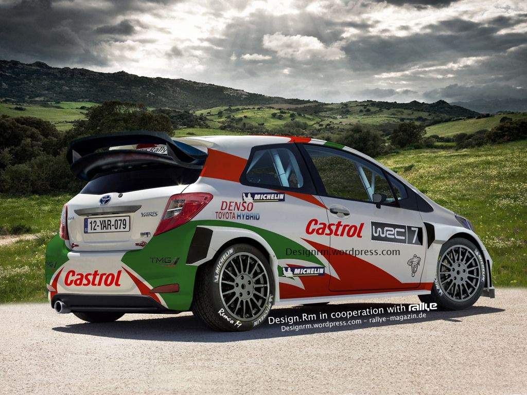 Toyota Yaris Wrc Rally Car Toyota、cars、best Racing Cars