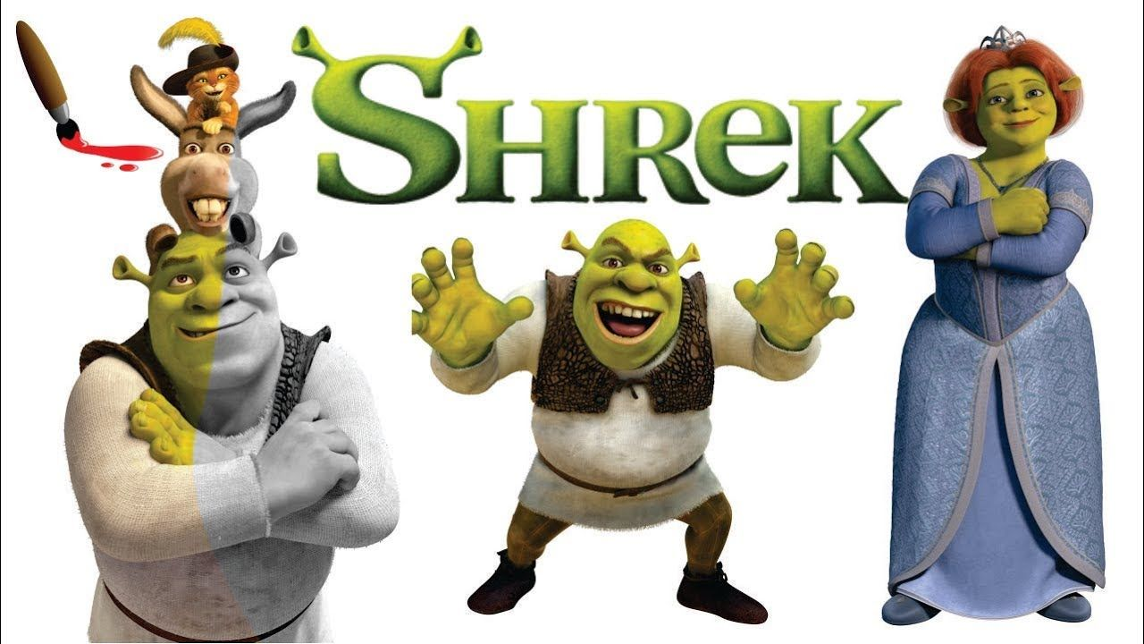 Shrek coloring page Coloring books, Coloring pages, Shrek
