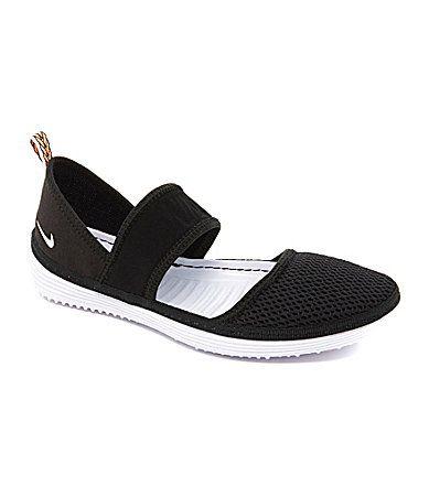brand new 1cab7 895bf Nike Womens Solarsoft Mary Jane Aqua Slippers  Dillards