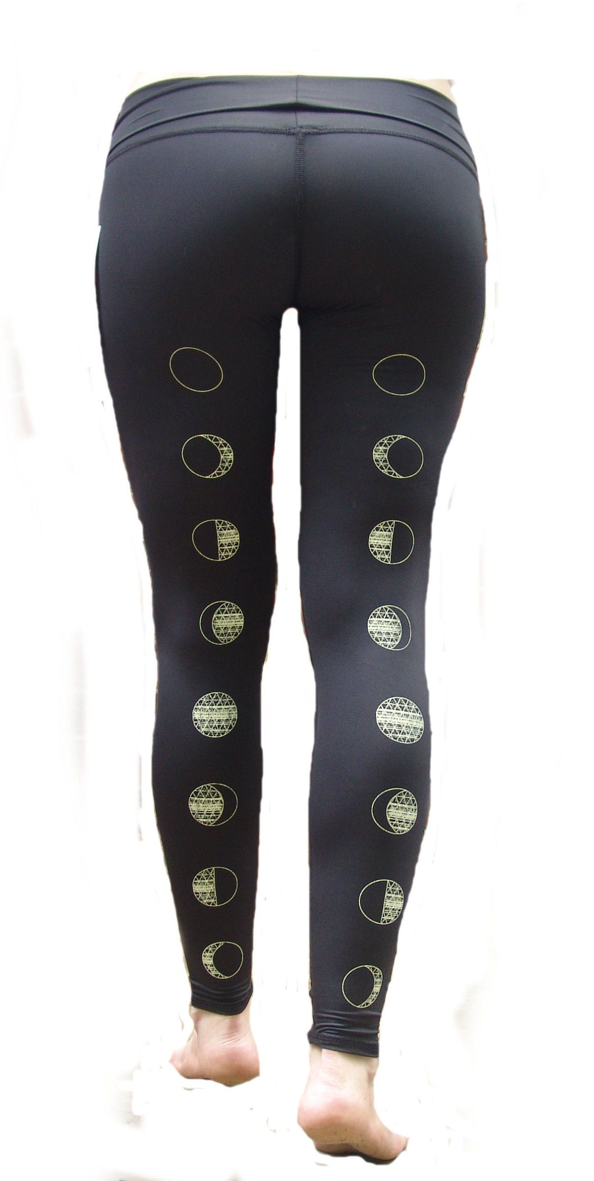 4f22319cee906 Amazon.com: Teeki - Designer Active Wear - Moon Dance Black Hot Pant -  Large: Clothing