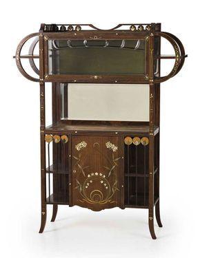 Home ebanisti carlo zen art nouveau jugendstil for Case antiche arredamento