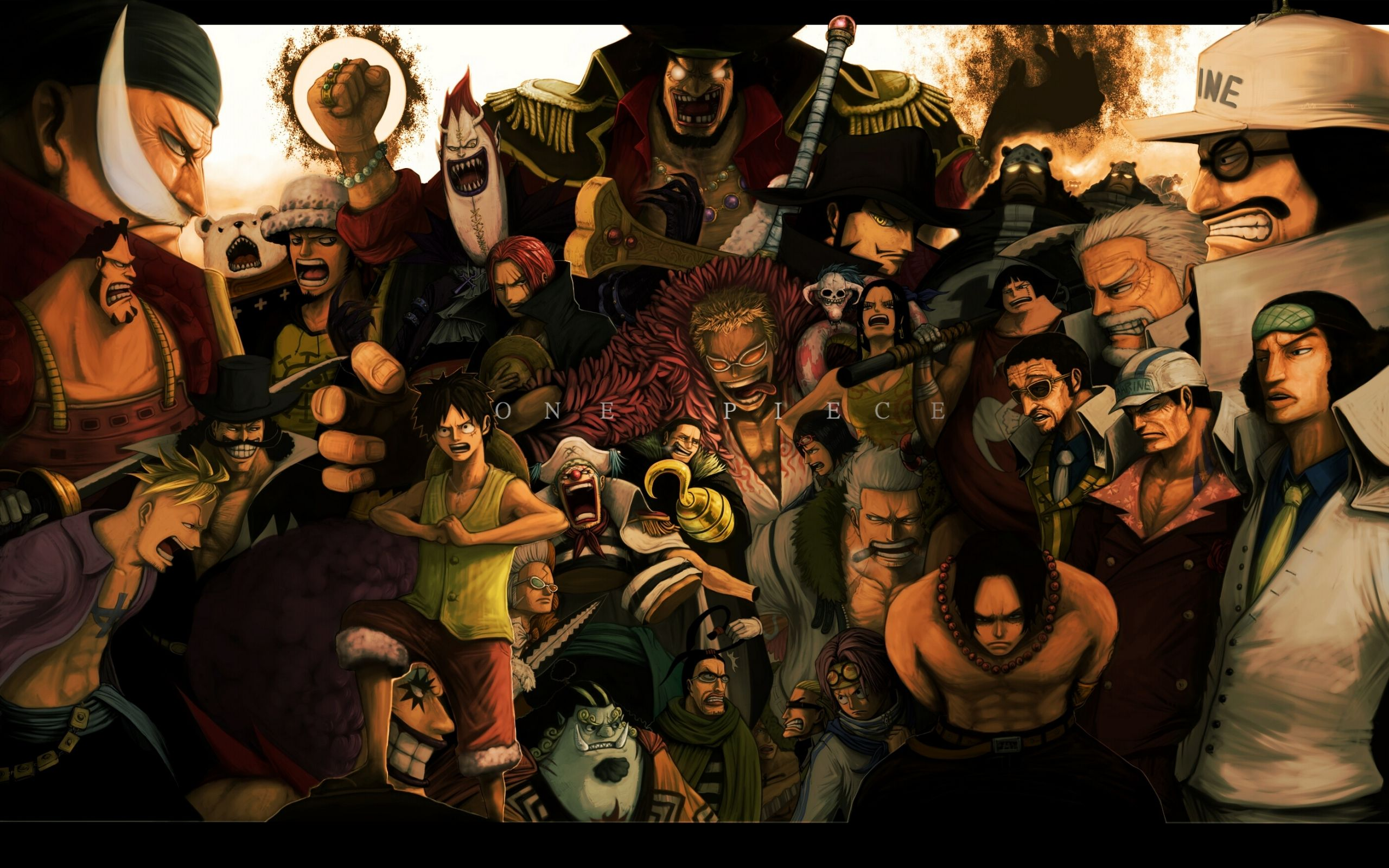 cool one piece wallpapers | hd wallpapers | pinterest | desktop