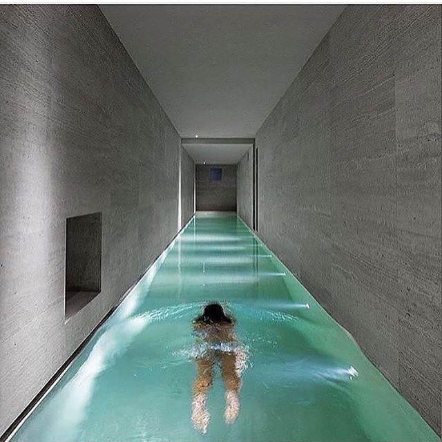 Richfamous: Amazing Indoor Swimming Pool Life Is Short Get
